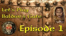 Let's Play Baldurs Gate: Episode 1